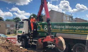 L&S Waste - Charity In the Community - L&S Waste Supports DIY SOS Style Garden Make Over Project For Local Family