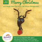 L&S Waste - Charity In the Community - LS Waste Get Creative With the Rainbow Centre this Christmas