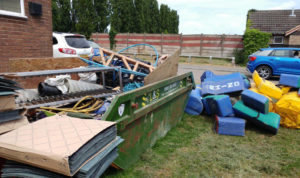 L&S Waste - Charity In the Community - L&S help tackle refurbishment of Fareham Heathens Rugby Club Portsmouth Southampton Hampshire