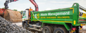 L&S Waste Management - Grabs and Tippers Deliver Aggregates Collect Waste - Hampshire Portsmouth Southampton Fareham