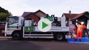 L&S Waste Management - L&S Concrete Pumping Video - Hampshire Portsmouth Southampton Fareham