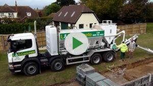 L&S Waste Management - L&S Waste Concrete Video - Hampshire Portsmouth Southampton Fareham