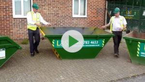 L&S Waste Management - L&S Waste Skip Sizes Video - Hampshire Portsmouth Southampton Fareham