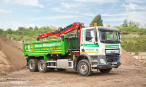 L&S Waste Management - Our Fleet - Grab Lorry - Portsmouth Southampton Hampshire Fareham