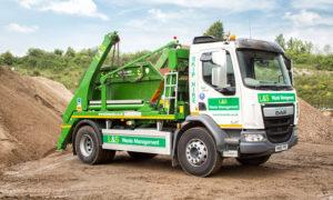 L&S Waste Management - Our Fleet - Skip Lorry - Portsmouth Southampton Hampshire Fareham