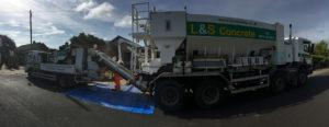 L&S Waste Management - Ready Mixed Concrete Line Pumping - Hampshire Portsmouth Southampton Fareham