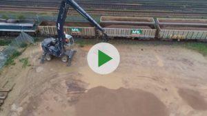 L&S Waste Management - L&S Waste Rail Depot Video - Hampshire Portsmouth Southampton Fareham