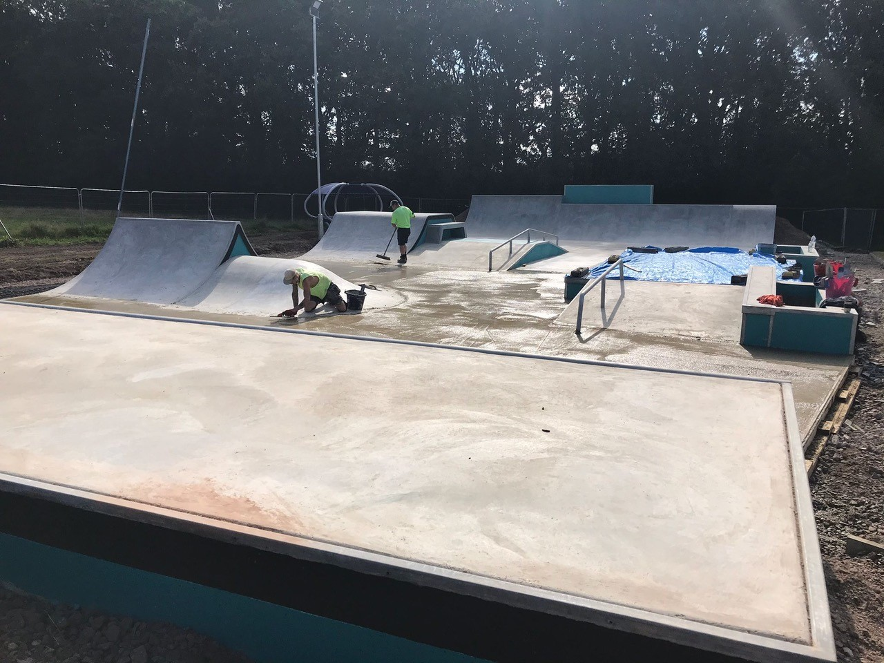 L&S Concrete Skate Park
