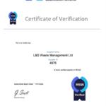 RISQS Certificate